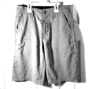 Volcom Hybrid shorts (Boys Size 26) Gray
